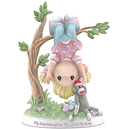 Figurine: Precious Moments My Granddaughter, My Little Monkey Figurine