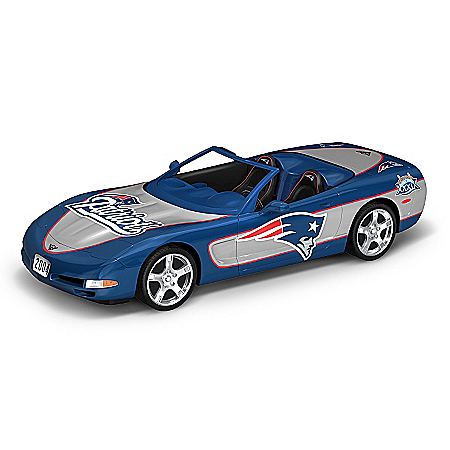 Sculpture: New England Patriots Super Bowl XXXIX 2004 Replica Corvette Sculpture