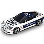 Sculpture - New York Yankees Chevrolet Corvette Home Run Cruiser Sculpture