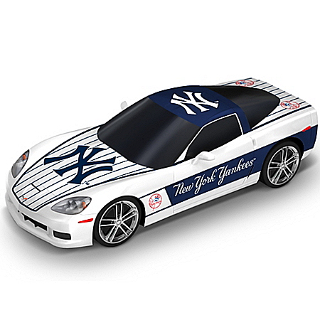 Sculpture: New York Yankees Chevrolet Corvette Home Run Cruiser Sculpture 905386001
