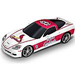 Sculpture - St. Louis Cardinals Home Run Cruiser Chevrolet Corvette Sculpture