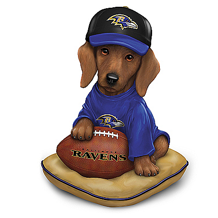 Baltimore Ravens Sunday Afternoon Quarter-Bark Figurine