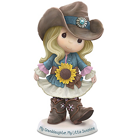 Precious Moments Collectibles Figurine: Precious Moments My Granddaughter, My Little Sunshine Figurine