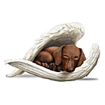 Figurine - Dachshunds Leave Paw Prints On Our Hearts Figurine