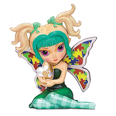 Jasmine Becket-Griffith Interesting Dream Autism Awareness Figurine