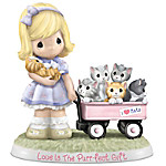 Figurine - Precious Moments Love Is The Purr-fect Gift Figurine
