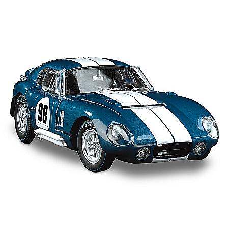Diecast Car: 1:18 1965 Shelby Cobra Daytona Coupe #98 Diecast Car