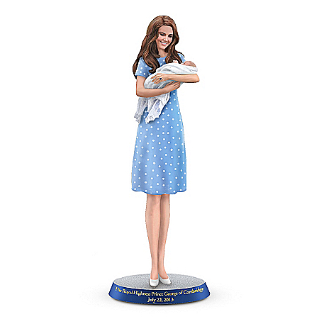 Figurine: His Royal Highness, Prince George Of Cambridge Figurine