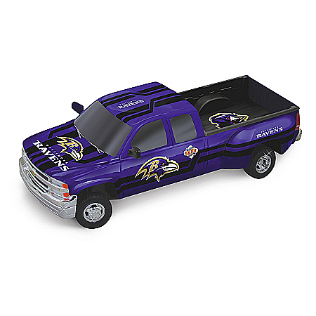 Baltimore Ravens Super Bowl XXXV Chevy Silverado Sculpture