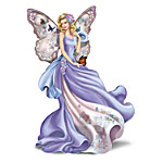 Figurine - Lena Liu Fluttering Faith Alzheimer's Awareness Angel Figurine