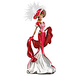 Serenity Of Heartfelt Promises Victorian-Fashioned Lady Figurine