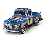 Sculpture: Ted Blaylock American Spirit Ford F1 Truck Sculpture