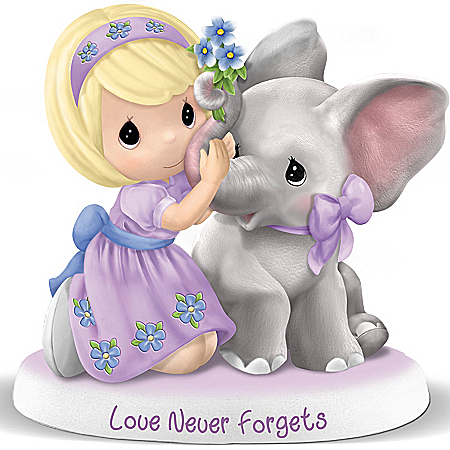 Figurine: Precious Moments Love Never Forgets Alzheimer's Benefit Figurine