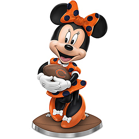 So Minnie Reasons To Love The Chicago Bears Figurine Featuring Disney's Minnie Mouse