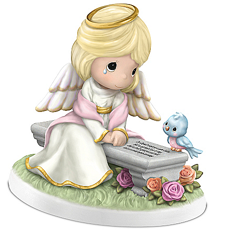 Figurine: Precious Moments Heaven's Embrace Remembrance Figurine