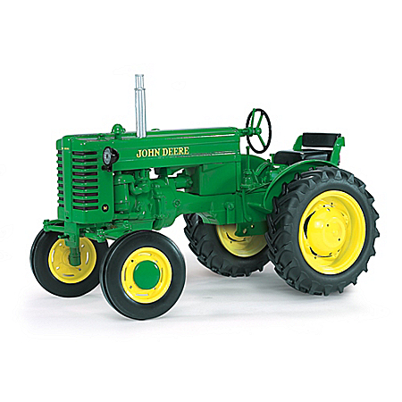 John Deere Collectibles Tractor: John Deere Power M Gas Wide Front Diecast Tractor