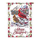 Flag - Kim Norlien Merry Christmas Flag