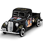 Sculpture - Rock N' Rollin' With Elvis 1 - 36-Scale Ford Truck Sculpture