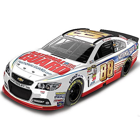 Dale Earnhardt Collectibles Diecast Car: Dale Earnhardt Jr. No. 88 National Guard 2014 Diecast Car