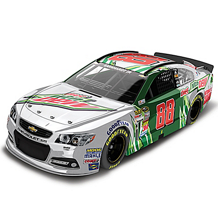 Dale Earnhardt Collectibles Diecast Car: Dale Earnhardt Jr. No. 88 Diet Mountain Dew 2014 Diecast Car