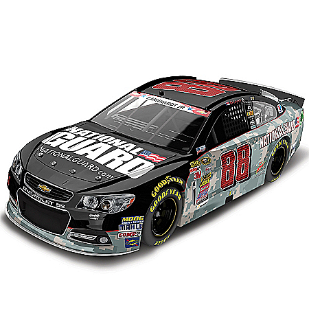 Dale Earnhardt Jr. No. 88 National Guard 2014 NASCAR: American Salute 1:24-Scale Diecast Car