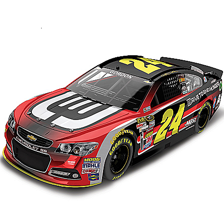 Diecast Car: Jeff Gordon No. 24 AARP/Drive To End Hunger 2014 Diecast Car