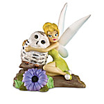 Disney I'll Owlways Be By Your Side Hand-Painted Tinker Bell Figurine