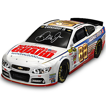 Sculpture: Dale Jr. #88 National Guard Car Sculpture