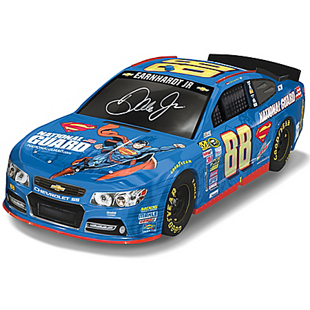 1:18 Scale Dale Earnhardt Jr. 2014 #88 Superman Chevy SS NASCAR Sculpture