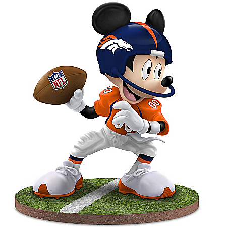 Figurine: Denver Broncos Quarterback Hero Figurine