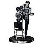 Sculpture - Elvis Presley '68 Comeback Platinum Edition Sculpture