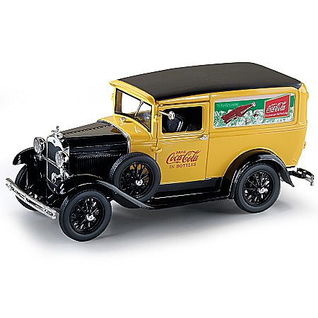 1:18-Scale COCA-COLA 1931 Ford Model A Diecast Delivery Truck