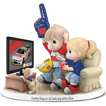 Precious Moments Collectibles Figurine: Precious Moments Every Day Is A Victory With You Dale Jr. Figurine