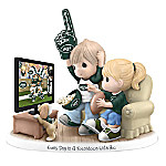 Figurine - Precious Moments Every Day Is A Touchdown With You Jets Figurine