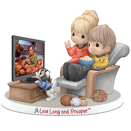 Precious Moments Live Long And Prosper STAR TREK Porcelain Figurine