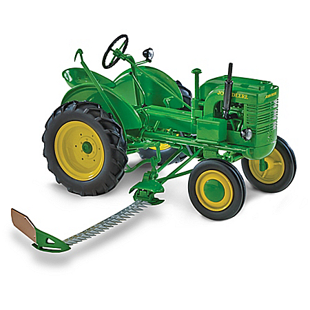 John Deere Collectibles 1:16-Scale John Deere L With Sickle Mower Replica Diecast Tractor