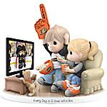 Figurine - Precious Moments Every Day Is A Goal With You Anaheim Ducks® Figurine