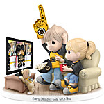 Figurine - Precious Moments Every Day Is A Goal With You Boston Bruins® Figurine