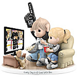 Figurine - Precious Moments Every Day Is A Goal With You Los Angeles Kings® Figurine