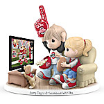 Precious Moments Every Day Is A Touchdown With You - Ohio State Buckeyes Figurine
