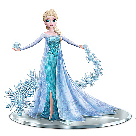 Disney FROZEN Elsa The Snow Queen Let It Go Figurine