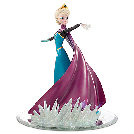 Disney FROZEN Elsa Coronation Day Dress Figurine