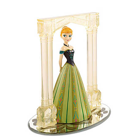 Disney FROZEN For The First Time In Forever Anna Figurine