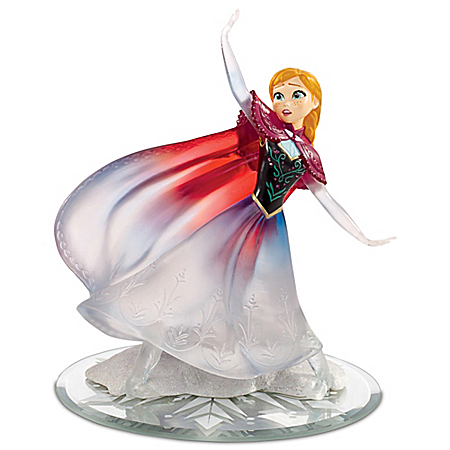 Disney FROZEN Love Warms A Frozen Heart Anna Figurine