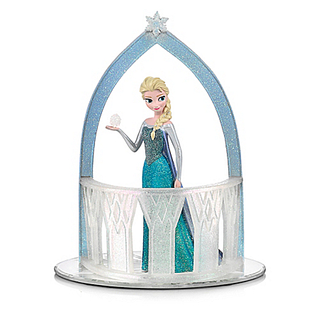 Disney FROZEN Queen Of Snow And Ice Elsa Figurine