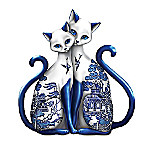 Purr-ecious Blessing Of Two Lovers Porcelain Figurine