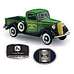1937 John Deere Ford Diecast Truck With Opening Doors And Tailgate