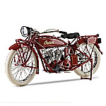 Hand-Painted Indian Motorcycle 1 - 6-Scale 1920 Diecast Motorcycle