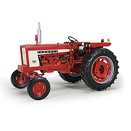 1:16-Scale International Harvester Farmall 504 Gas Wide Front With Weights Diecast Tractor