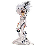 Afternoon At Ascot Victorian Lady Figurine